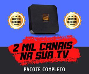tv box - 2000 canais em sua tv
